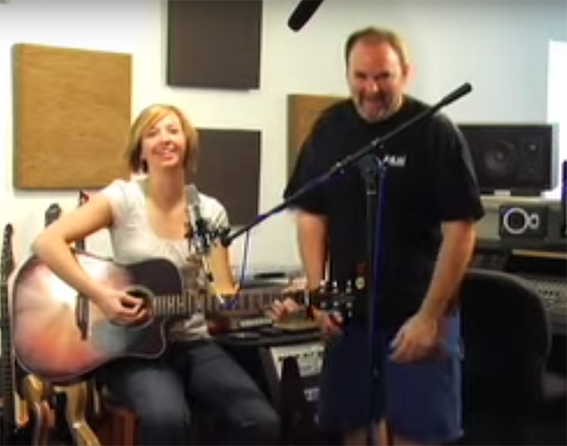 Acoustic Guitar Recording Tips – Video
