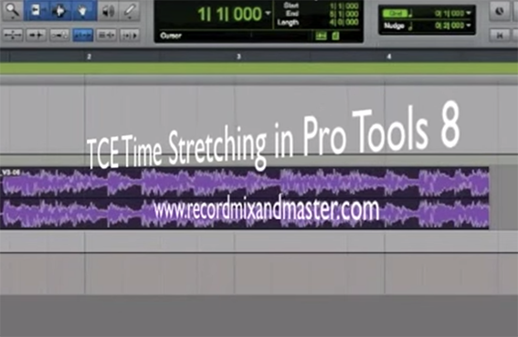Using Elastic Pitch in Pro Tools 8