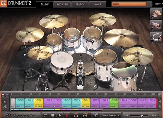 Toontrack EZ Drummer 2 Overview