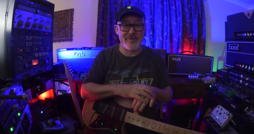 Tim Pierce's full length video on recording electric guitar with an R-122V and SM-57. This is a master class on TONE! #royerlabs #ribbonmic #timpierce