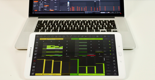 Control Ableton from iOS Android Windows