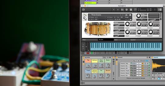Free Snare Designer for Ableton Live Logic and Kontakt
