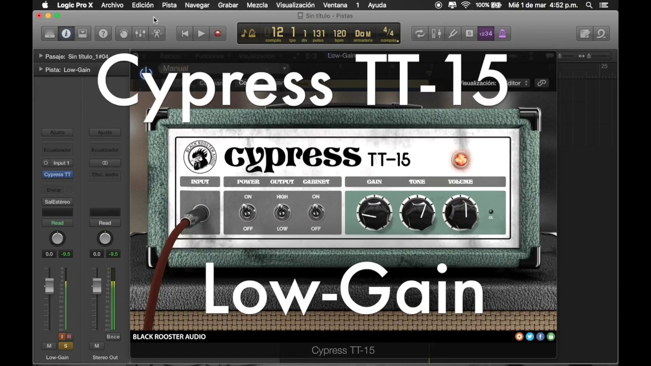 Free Plugin Black Rooster Cypress TT-15 Guitar Amp Head
