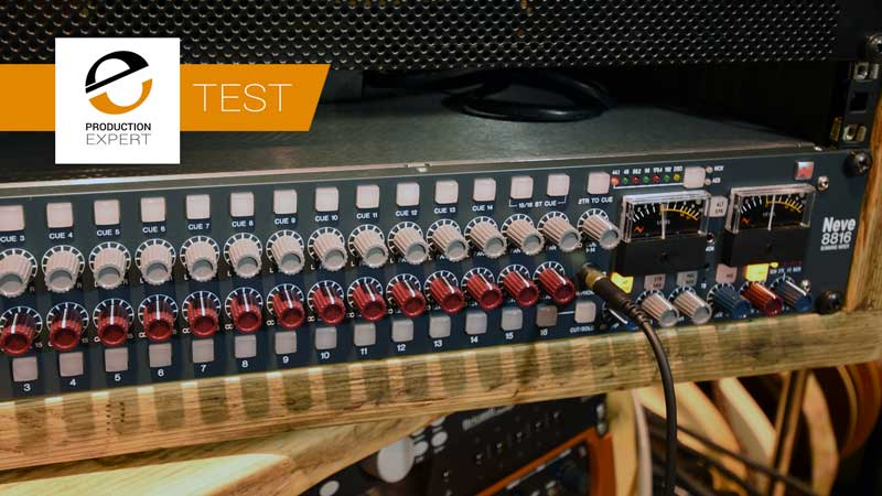 The Audio Summing Debate – Can You Tell The Difference? Third Test – Neve 8816 With Width